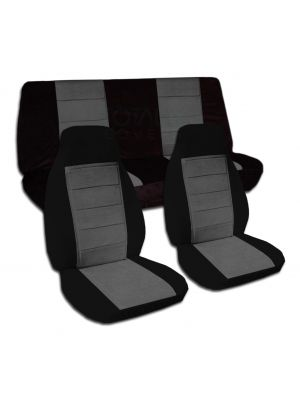 Two-Tone Car Seat Covers - Full Set