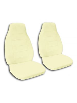 Solid Color Car Seat Covers - Front