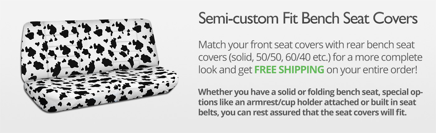 Animal Print Truck Seat Covers