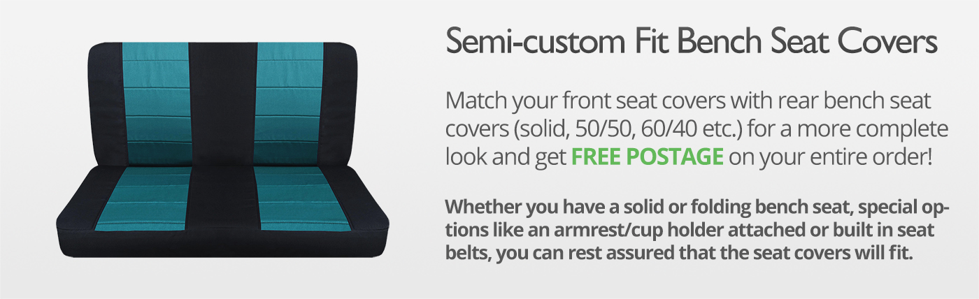 2-Tone Truck Seat Covers