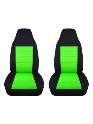 2-Tone Car Seat Covers - Front