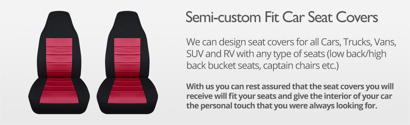 2-Tone Car Seat Covers