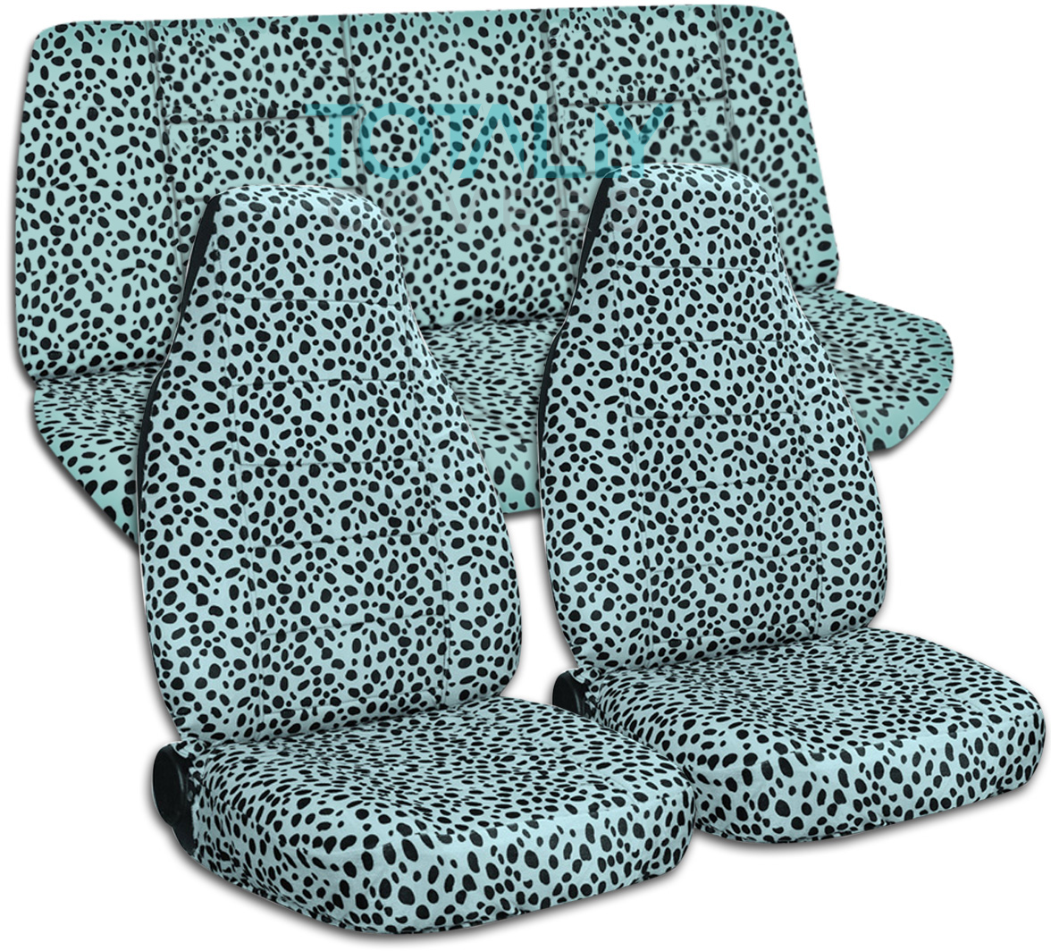Animal Print Car Seat Covers Zebra Cow Leopard Tiger