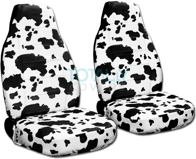 Animal Print Car Seat Covers (Front, Semi-custom) Zebra ...