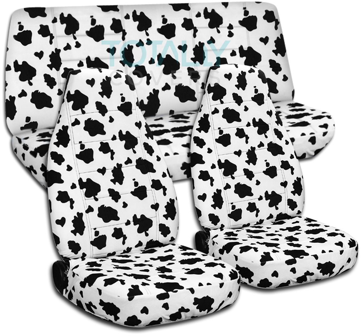 Cow Car Seat Covers