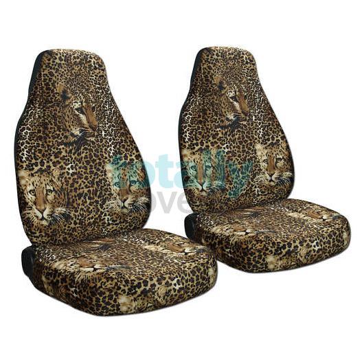Animal Print Car Seat Covers Zebra Cow Leopard Tiger