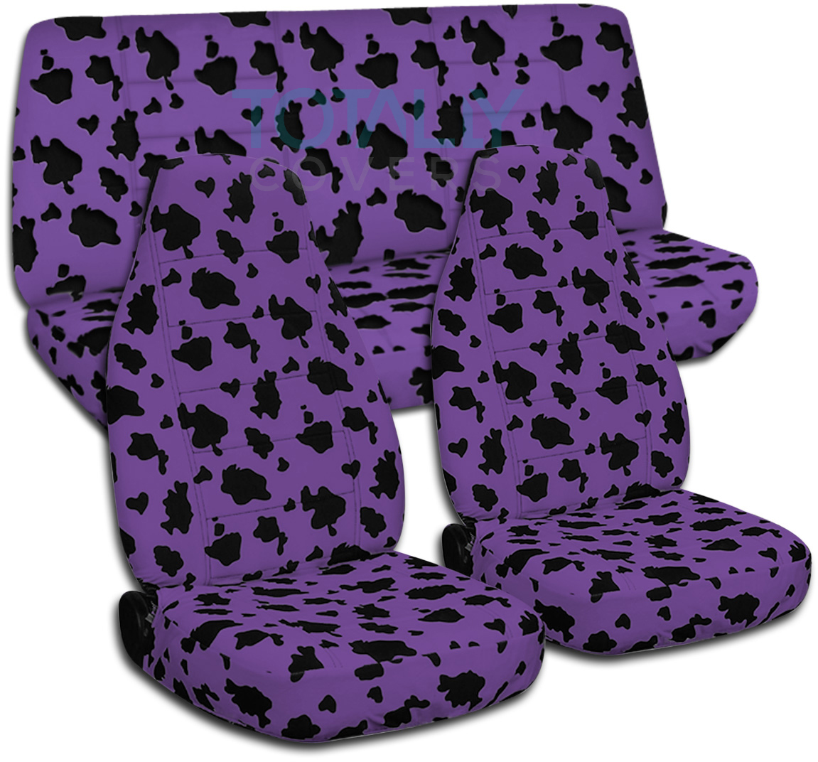 Animal Print Car Seat Covers