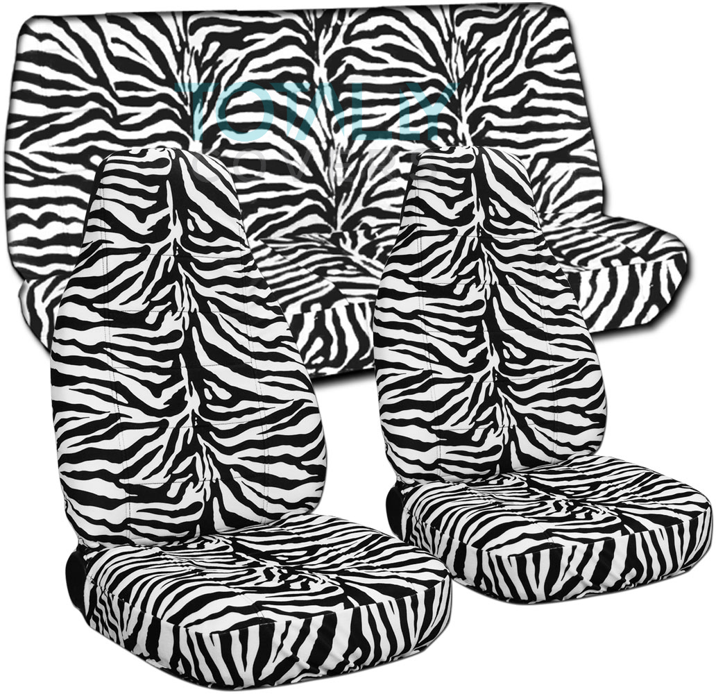 Tiger Car Seat Covers