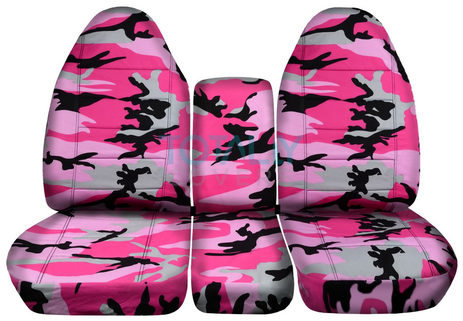 1994 2002 dodge ram 40 20 40 camo truck seat covers console armrest split bench ebay. Black Bedroom Furniture Sets. Home Design Ideas