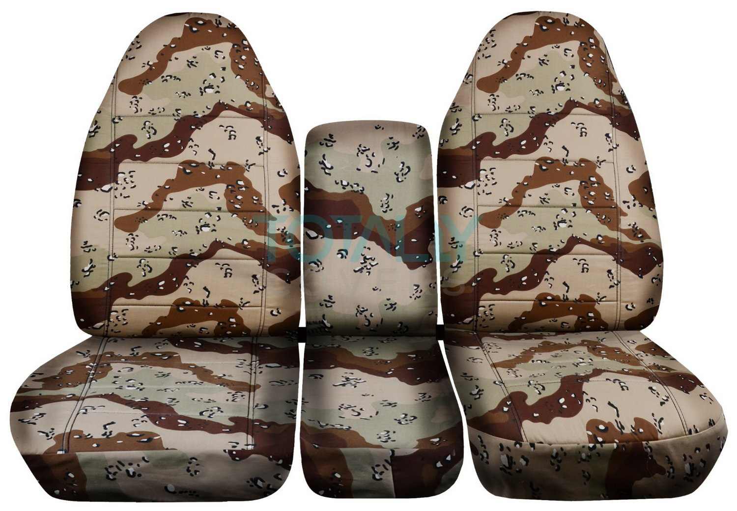 1993 1998 ford f series f 150 250 350 40 20 40 camo truck seat covers w console ebay. Black Bedroom Furniture Sets. Home Design Ideas