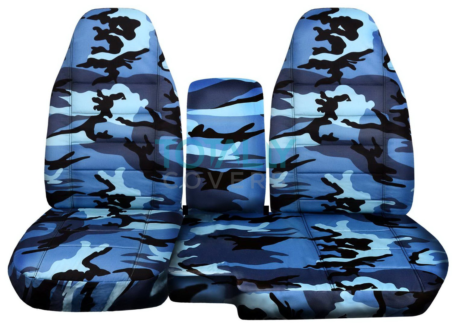 1991 2012 ford ranger 60 40 camo truck seat covers w console armrest