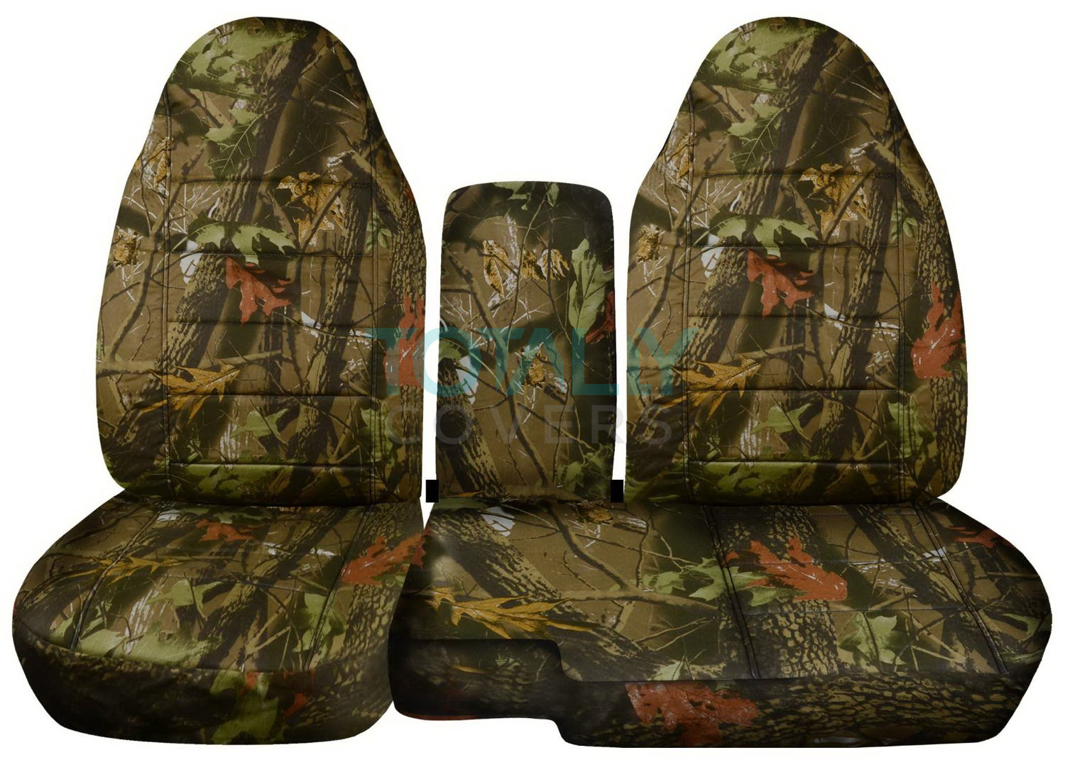 1991 2012 Ford Ranger 60 40 Camo Truck Seat Covers W Console Armrest Split Bench Ebay