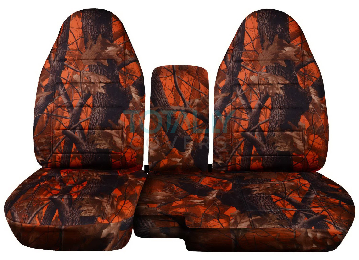1991 2012 Ford Ranger 60 40 Camo Truck Seat Covers W