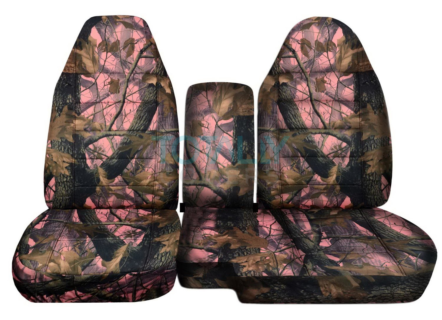 Ford Ranger 60 40 Pink Real Tree Camo Seat Covers