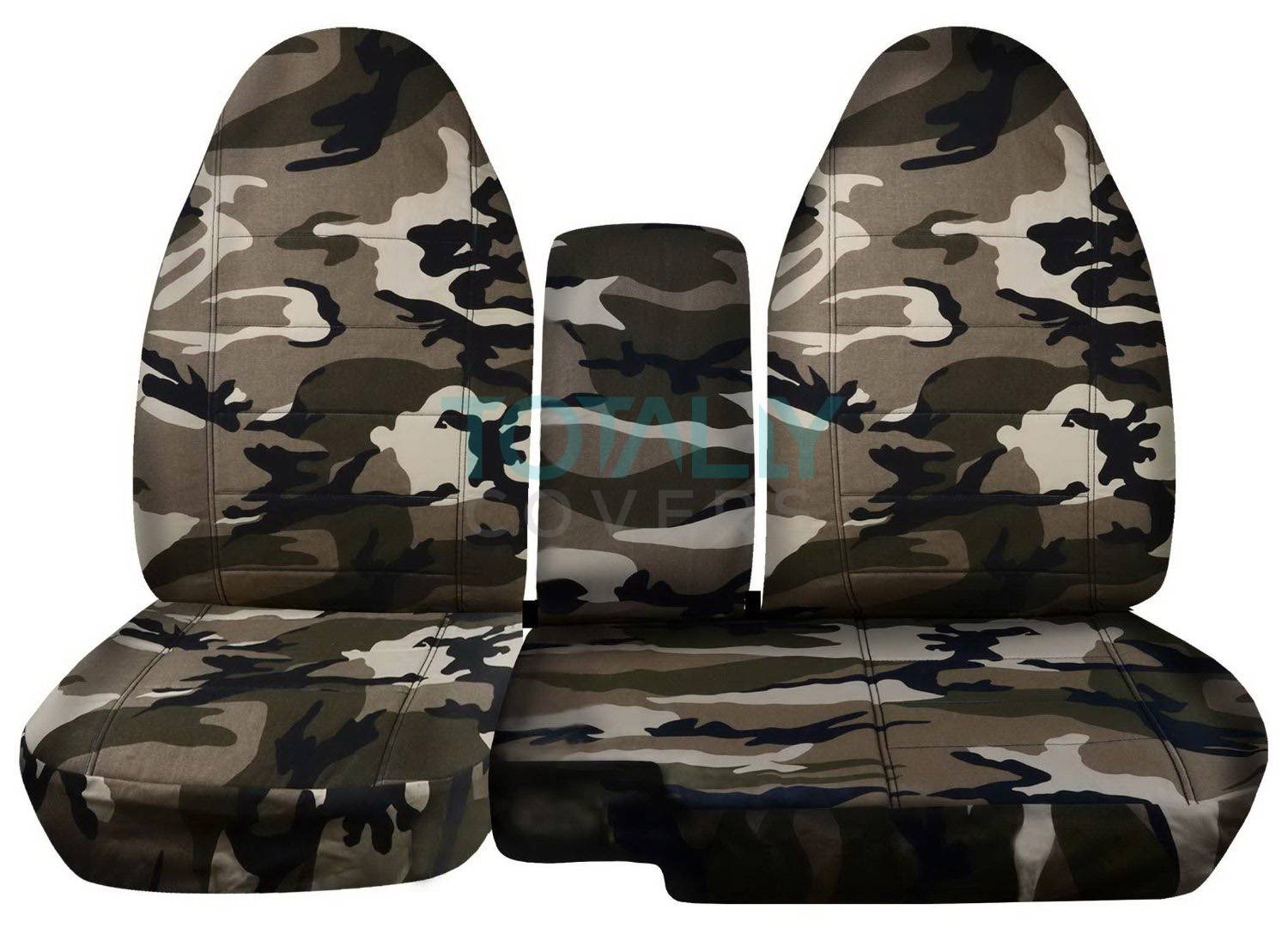 Ford Ranger 60 40 Tan And Beige Camo Seat Covers