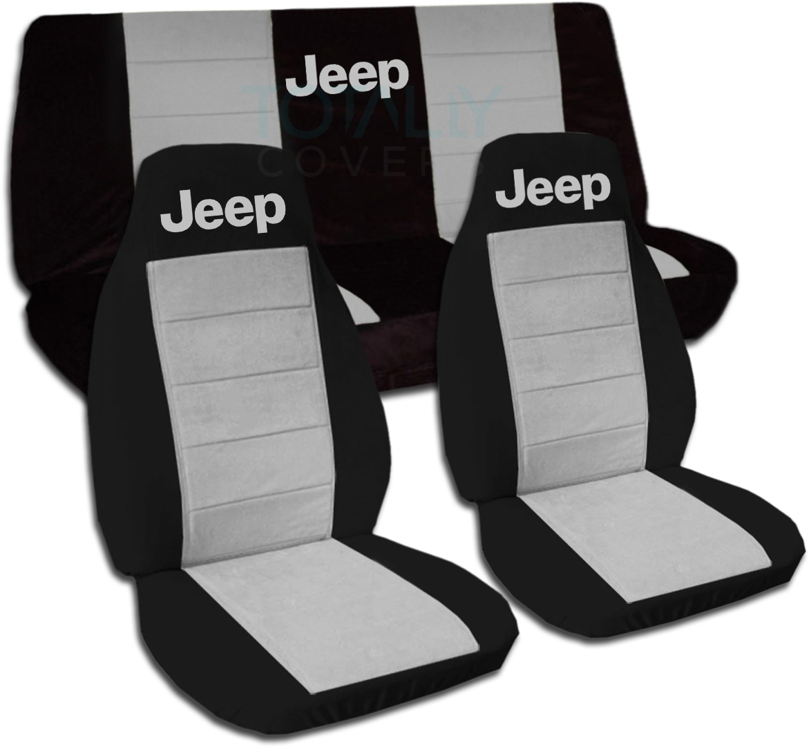 Jeep Wrangler Yj Tj Jk 1987 2018 Two Tone Seat Covers W