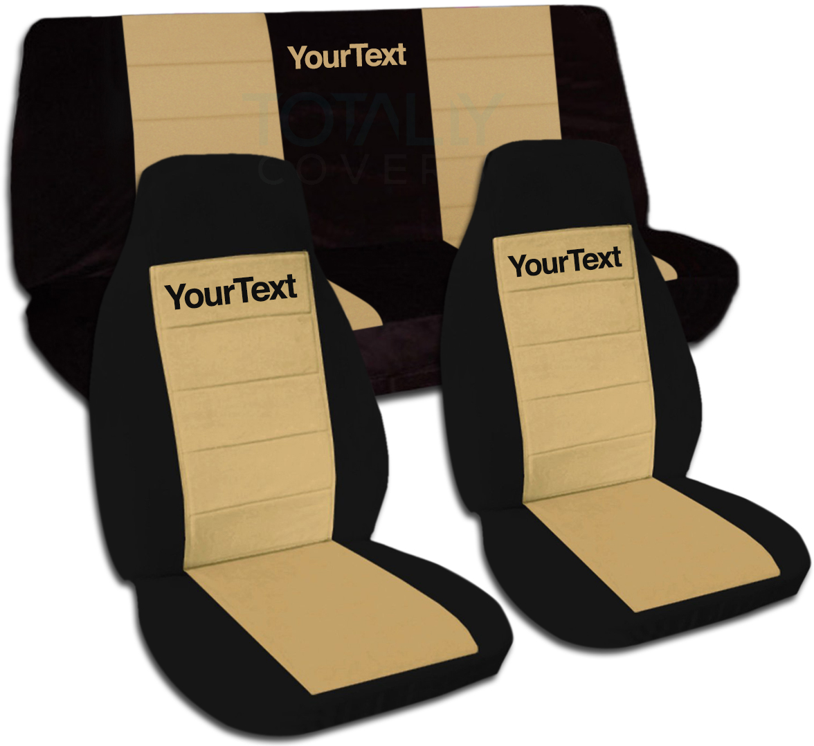 Jeep Wrangler Yj Tj Jk Jl 1987 2020 Two Tone Seat Covers W