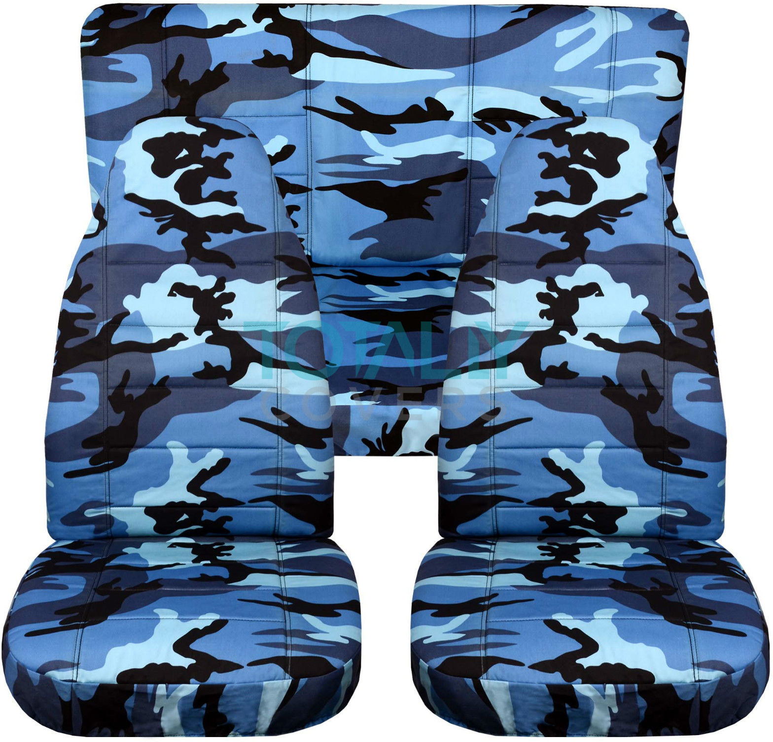 Jeep Wrangler Yj Tj Jk 1987 2017 Camo Seat Covers Front