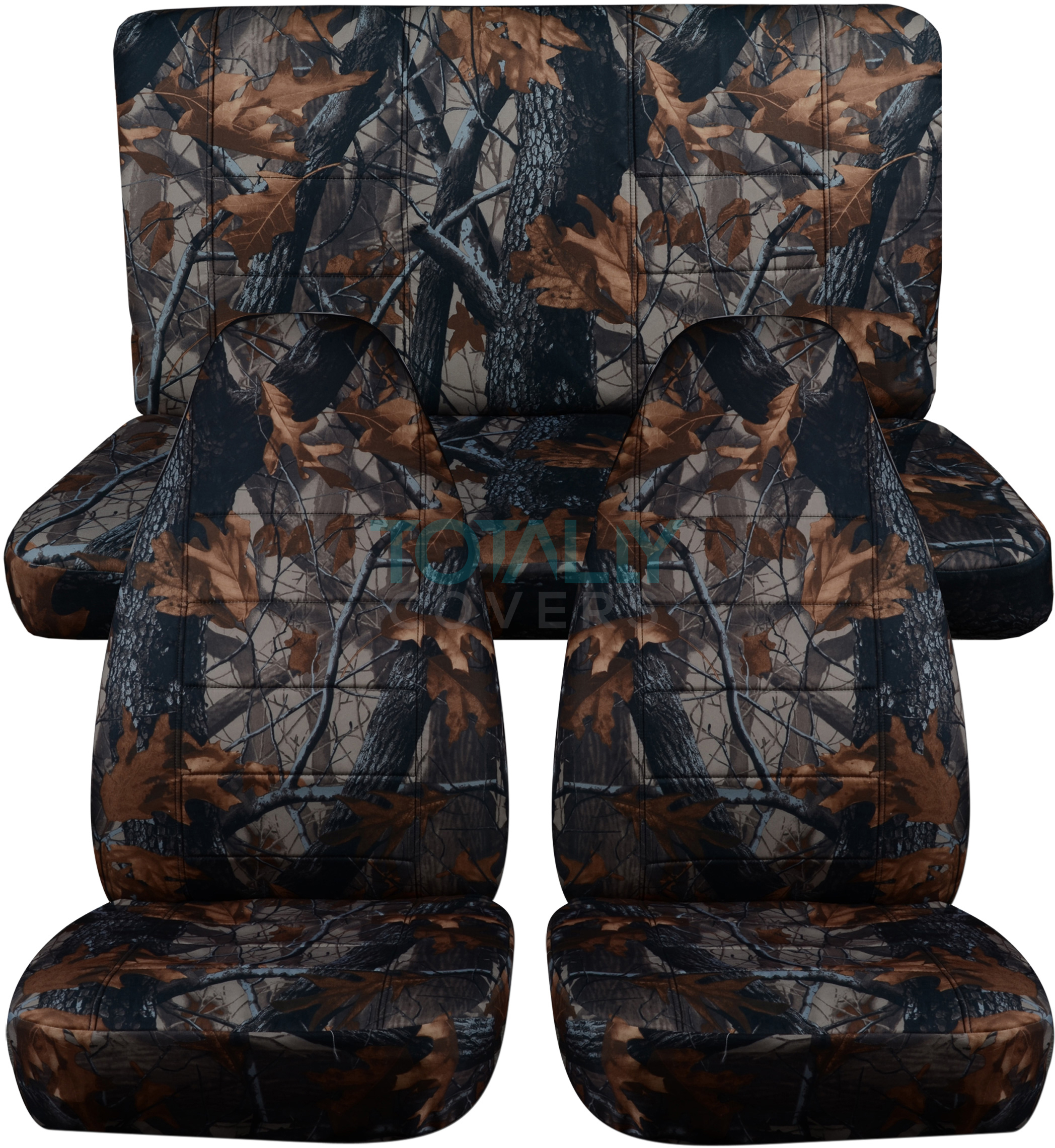 Jeep Wrangler Yj Tj Jk 1987 2018 Camo Seat Covers Front