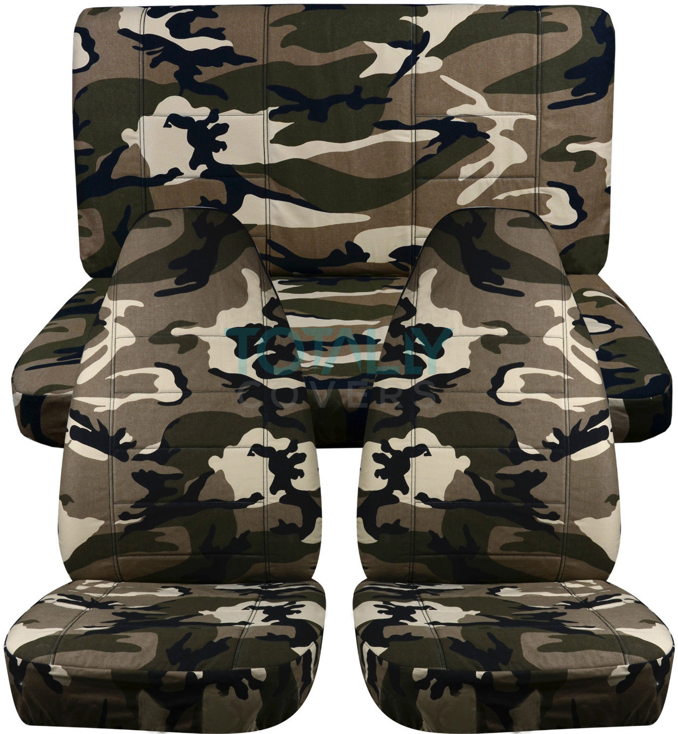 Groovy Details About Jeep Wrangler Yj Tj Jk Jl 1987 2019 Camouflage Seat Covers Front Rear Full Set Gmtry Best Dining Table And Chair Ideas Images Gmtryco