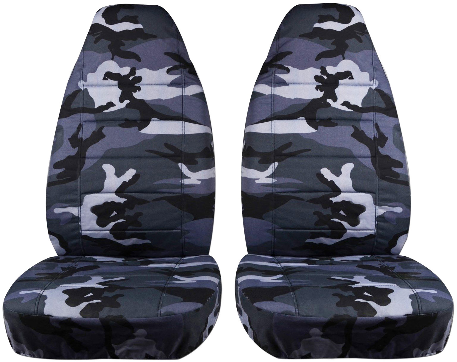 camouflage car seat covers front semi custom tree digital army 16 camo print ebay. Black Bedroom Furniture Sets. Home Design Ideas
