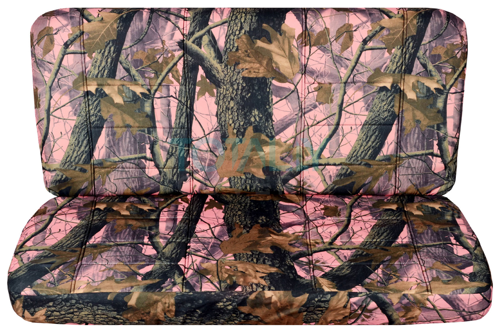 Pink Real Tree Camo Bench Seat Covers