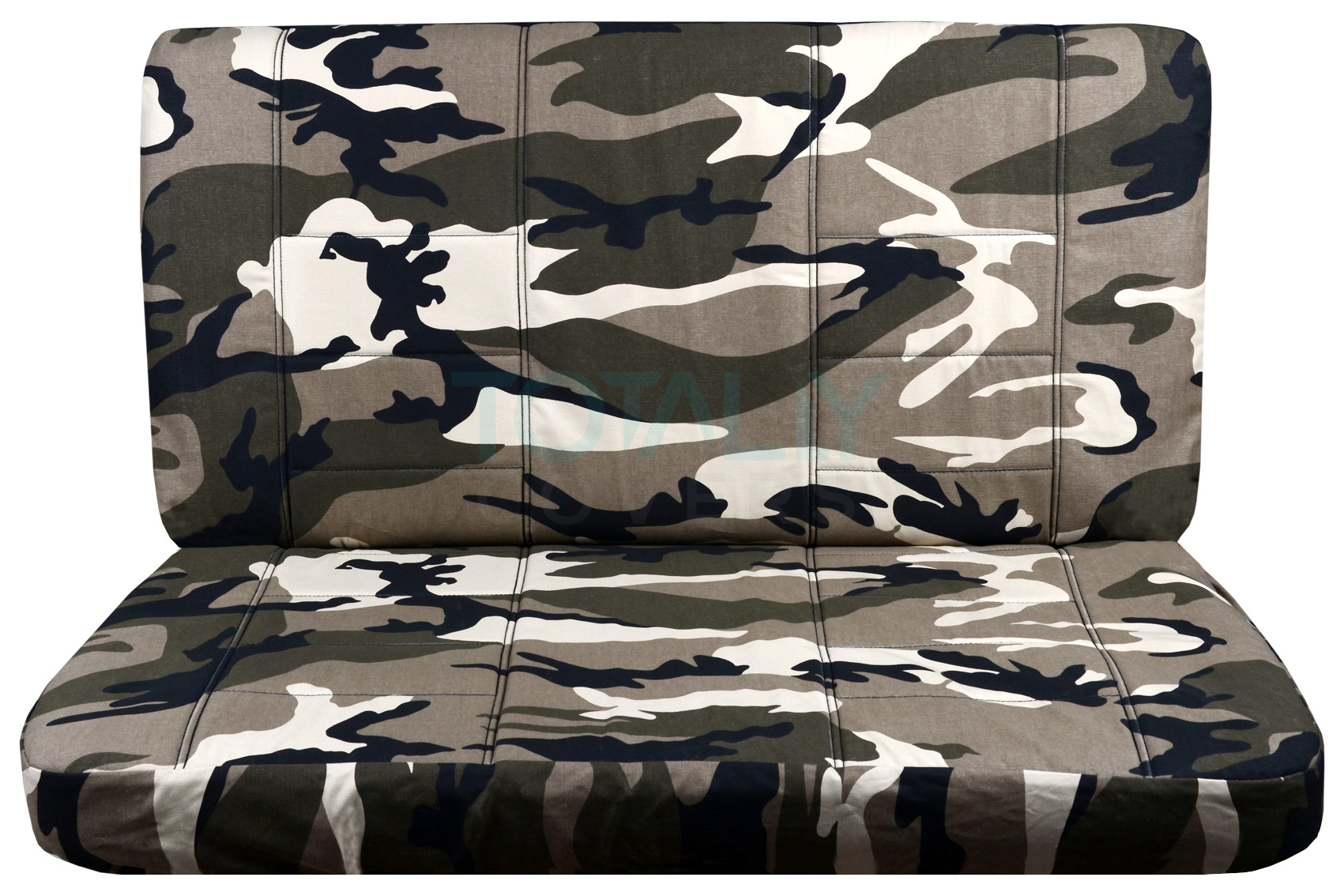 camouflage bench seat covers for car truck van suv 60 40 40 20 40 50 50 or solid ebay. Black Bedroom Furniture Sets. Home Design Ideas