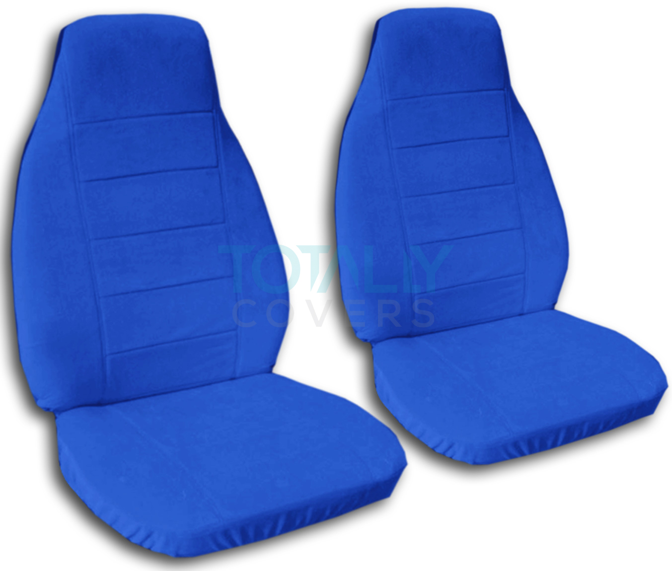Solid Color Car Seat Covers (Front, Semi-custom) Black ...
