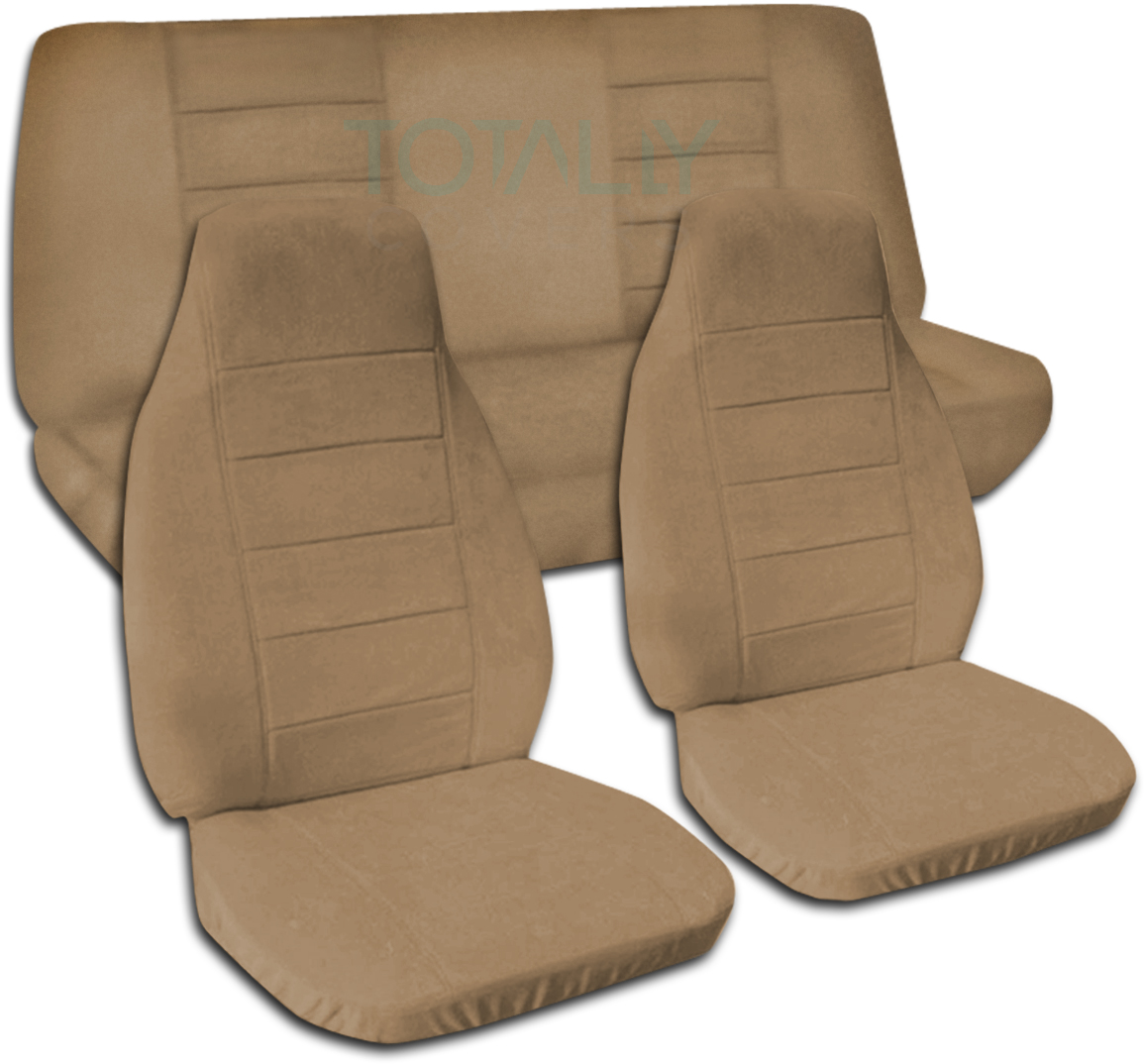 Gray Bench Car Seat Covers