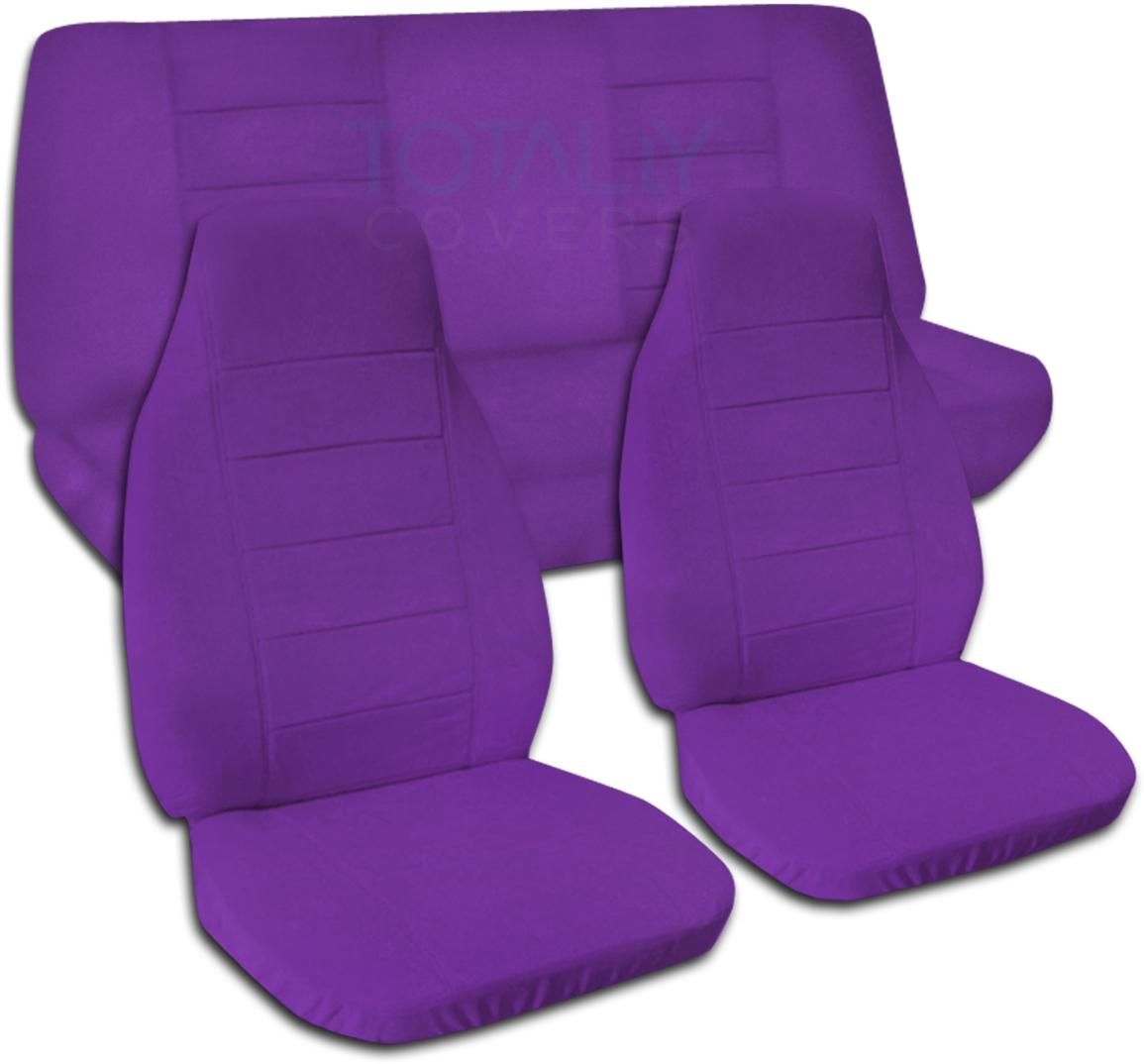 Purple Car Seat Covers