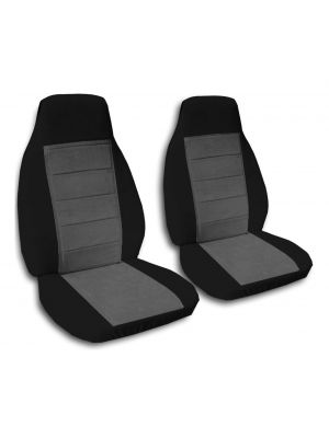 Two-Tone Car Seat Covers - Front