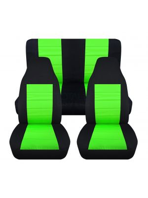 2-Tone Car Seat Covers - Full Set