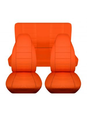 Solid Car Seat Covers - Full Set