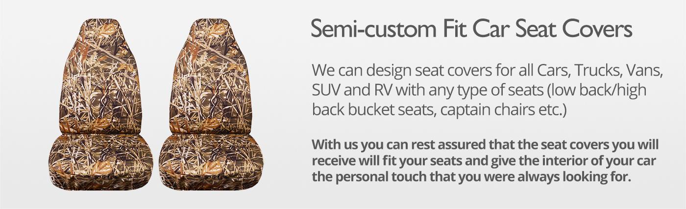 Camo Car Seat Covers